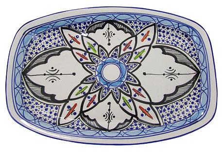 Rectangular Stoneware Platter