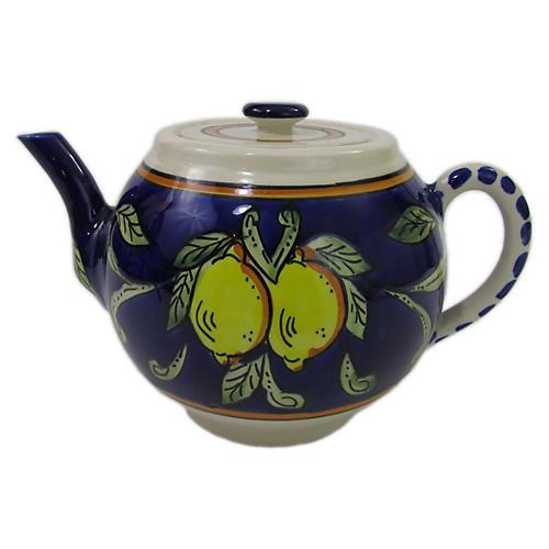 Citronique Teapot, Deep Cobalt