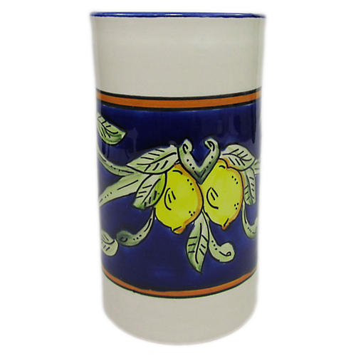 Citronique Utensil Holder, Deep Cobalt