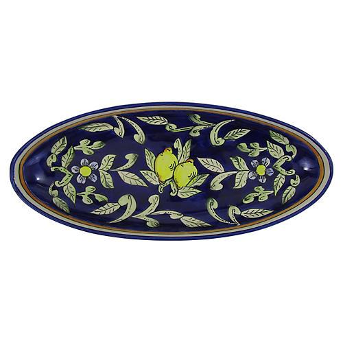 Citronique Extra Large Platter, Deep Cobalt