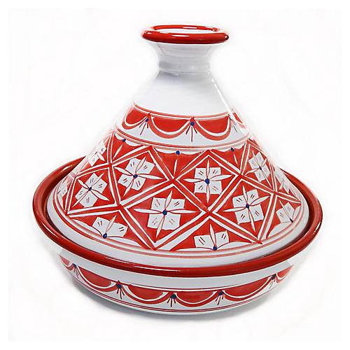 Nejma Tagine, Red/White