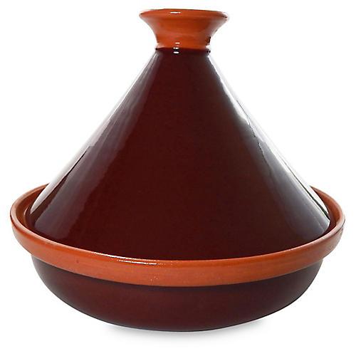 Ceramique Tagine, Brown/Orange