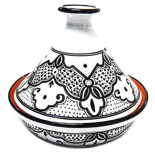 Sabrine Tagine, Black/White