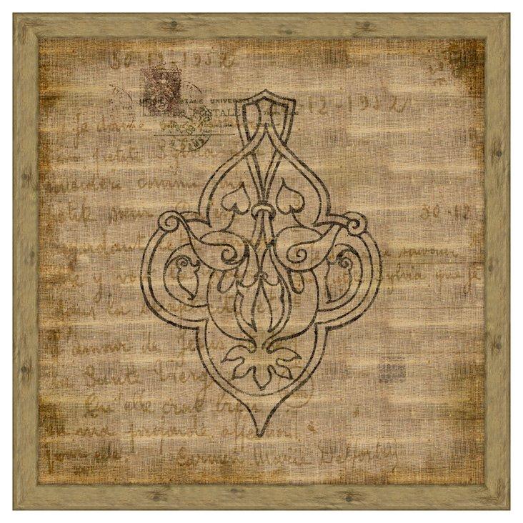 Arabesque (Antique Linen) II