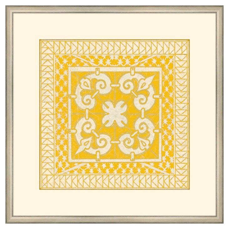 Small Yellow Tile IV