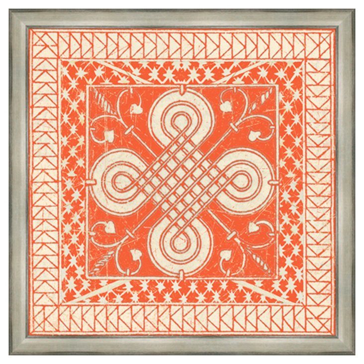 Tangerine Tile II