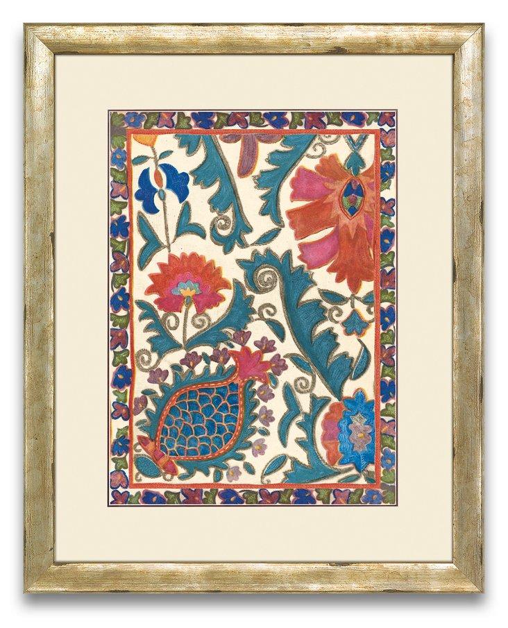 Uzbekistan Patterns Print I