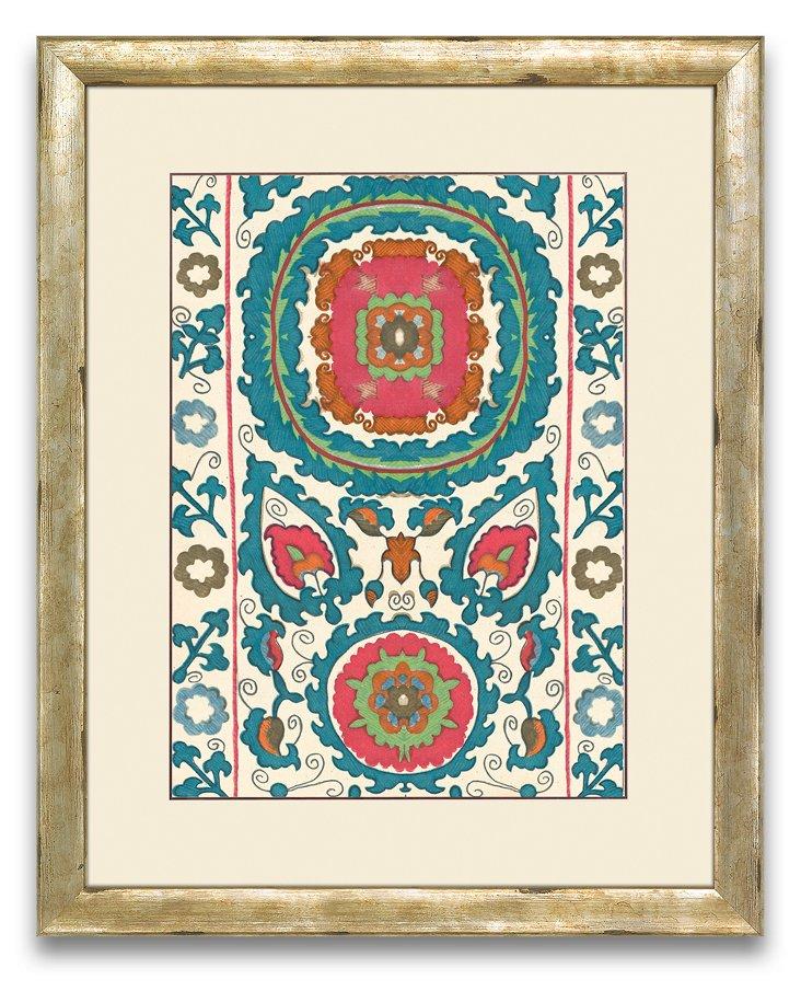 Uzbekistan Patterns Print IV