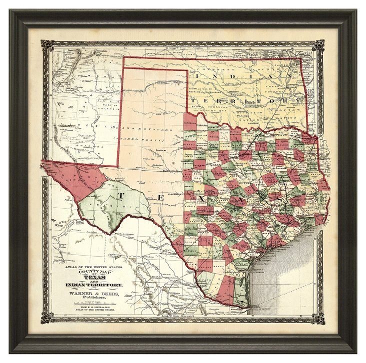 State Map of Texas