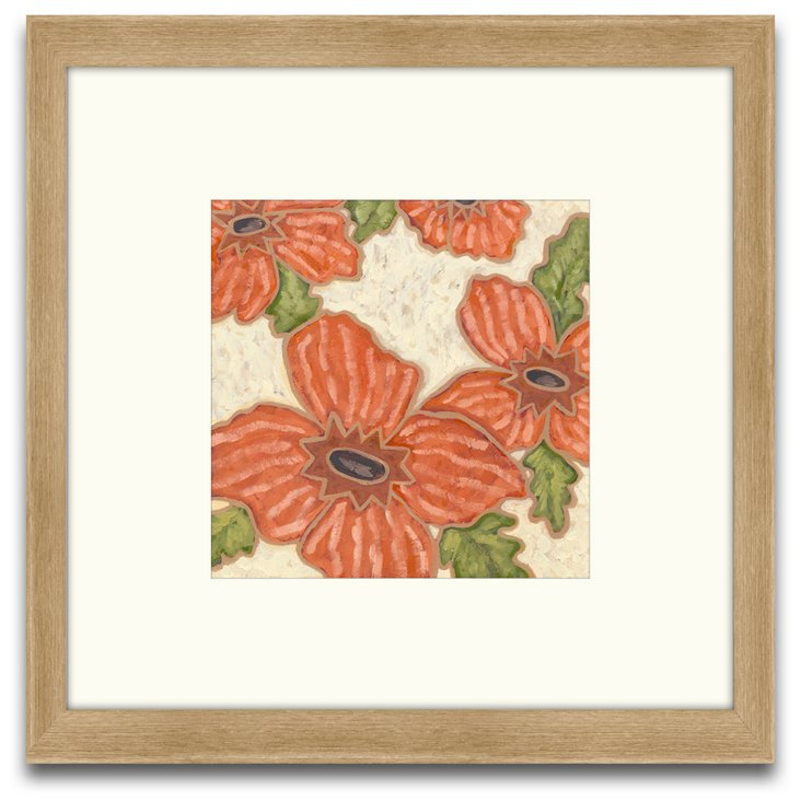 Persimmon Floral II