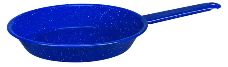 S/2 Small Fry Pans, Blue