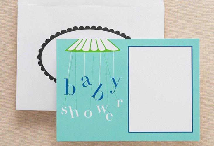 Lemon Tree Paper Shower Invites