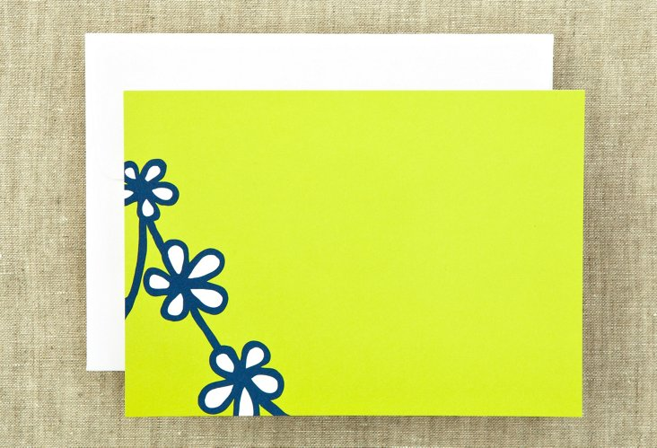 S/20 Daisy Chain Notes, Lime