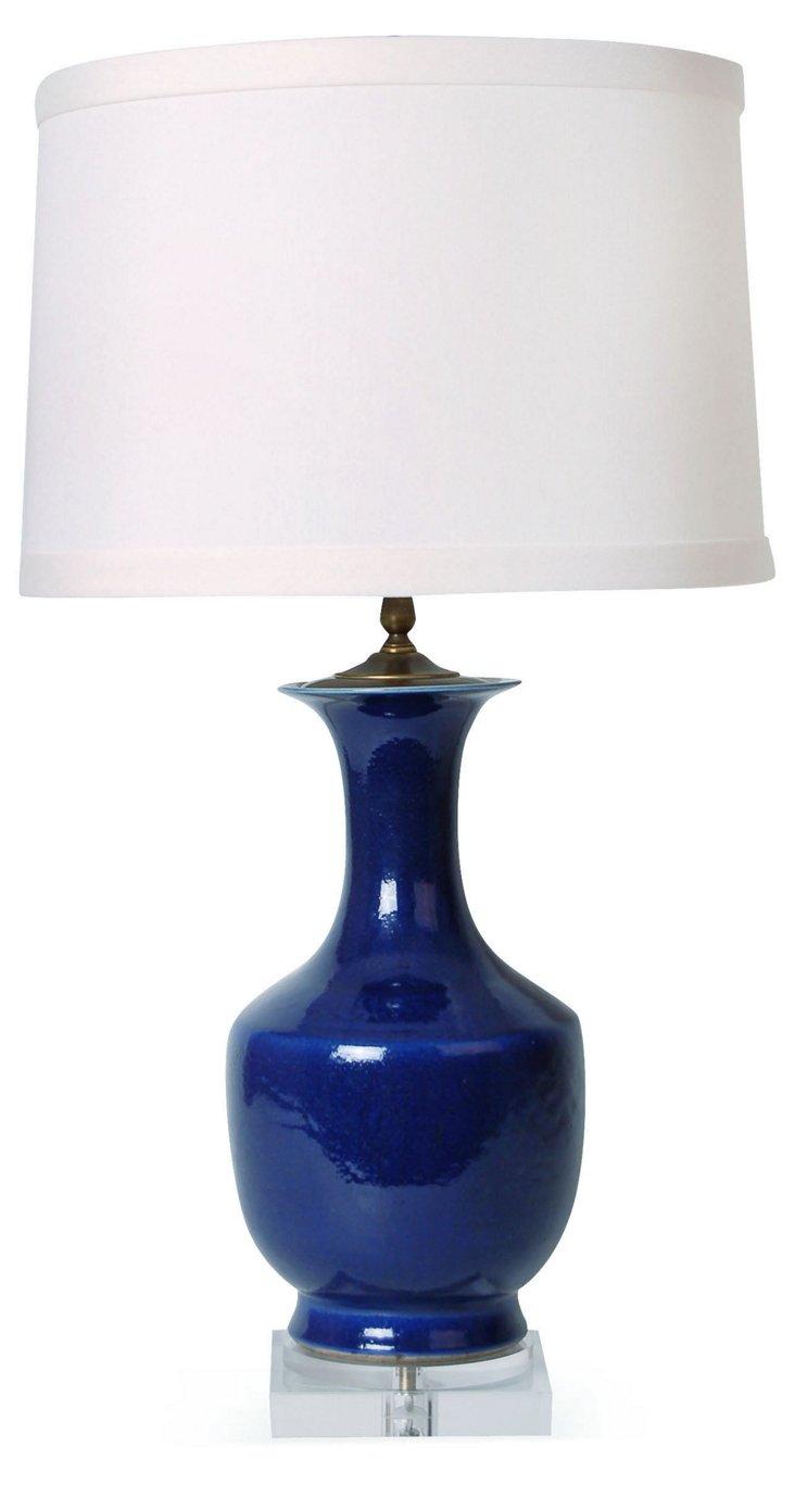 Deep Atlantic Table Lamp, Navy