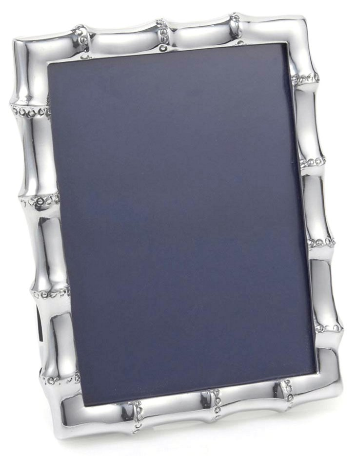 5x7 Bamboo Frame, Silver