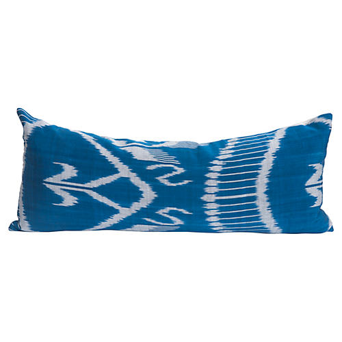 Antique Ikat Lumbar Pillow