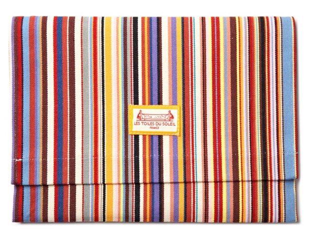 Foldover Pouch, Tom Multicolor