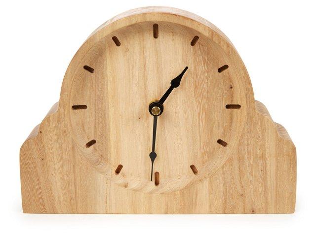 "9"" Takara Elm Clock, Brown"