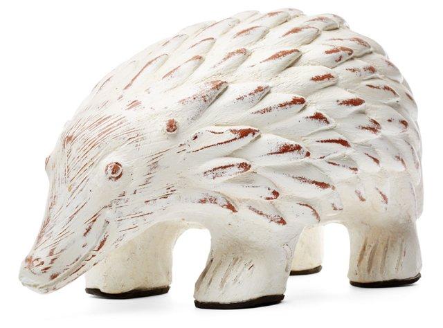 "15"" Porcupine Bank, White"