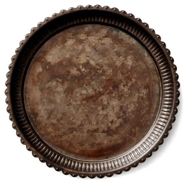 "14"" Desna Plate, Gray"