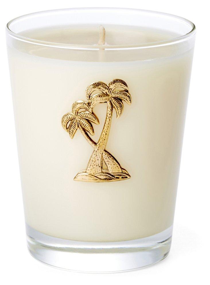 14 oz Palm Candle, Seascape