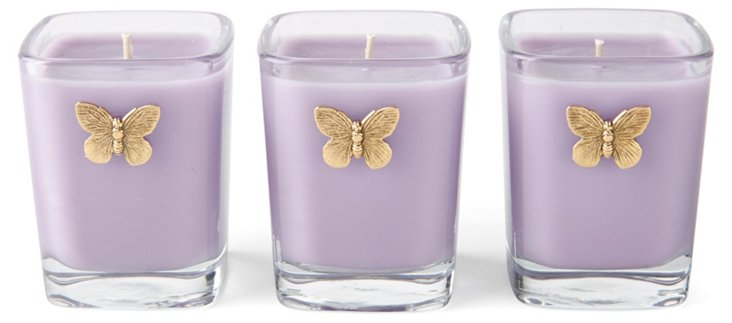 S/3 Votives French Lavender