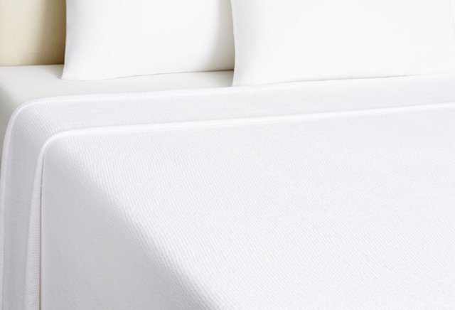 Seedstitch Blanket, White