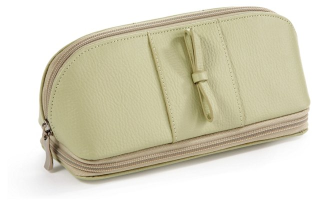 Rachel Cosmetic/Jewelry Case, Green