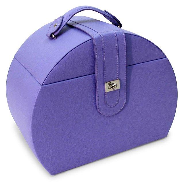 Diana Jewelry Box & Travel Case, Violet
