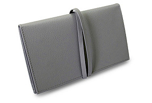 Audrey Jewelry Envelope, Gray
