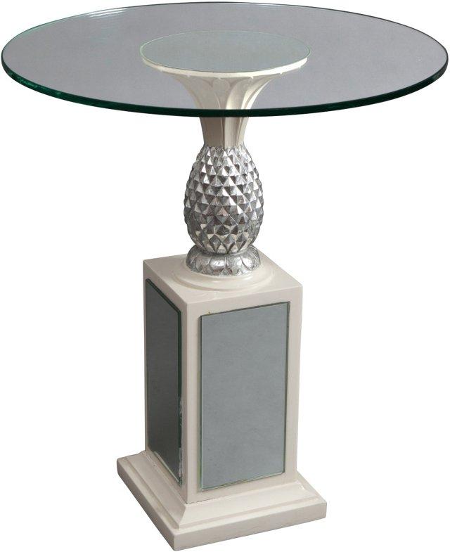 Grosfeld House Pineapple Pedestal Table