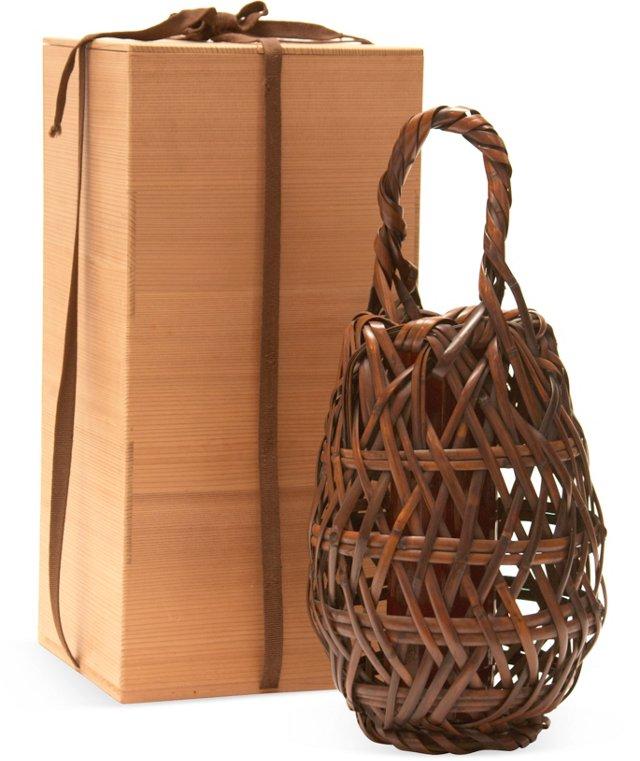 Ikebana Basket w/ Box II
