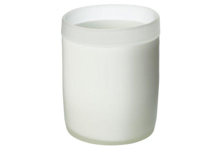 Sanded Frost Pillar Holder