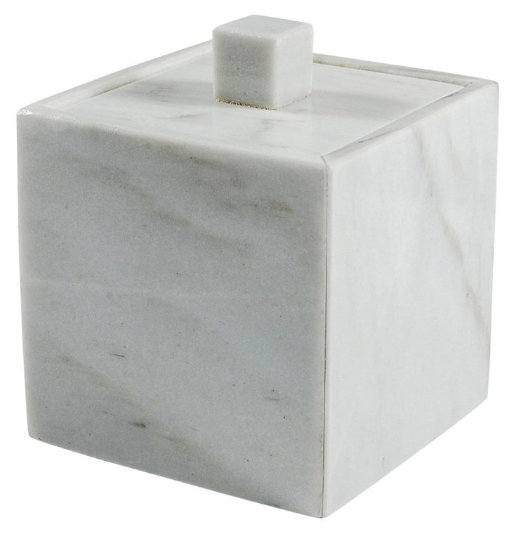 Palazzo Container, White Marble