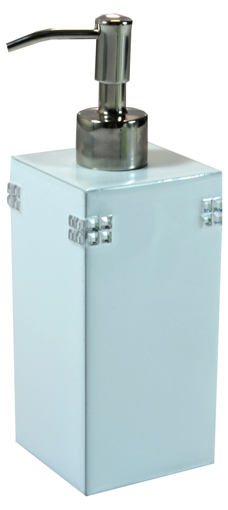 Madison Lotion Pump, Light Blue/Silver