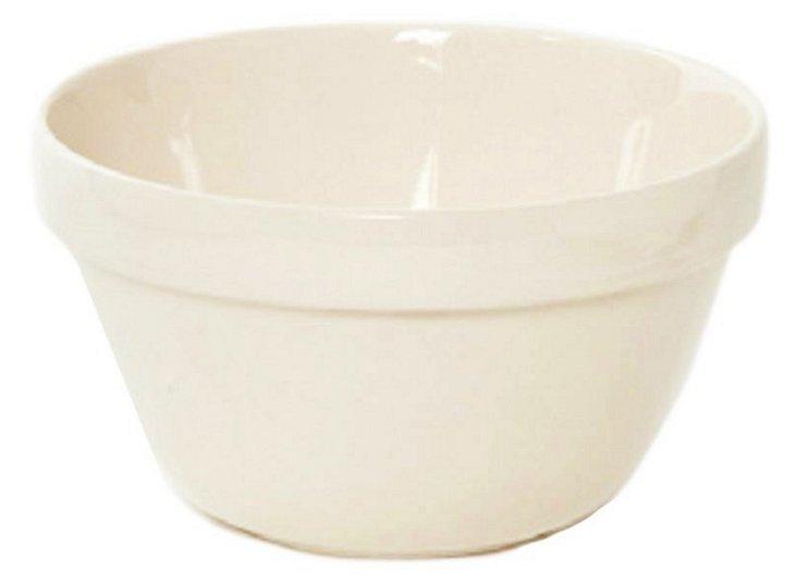 S/4 Earthenware Mixing Bowls, 0.25 Qt