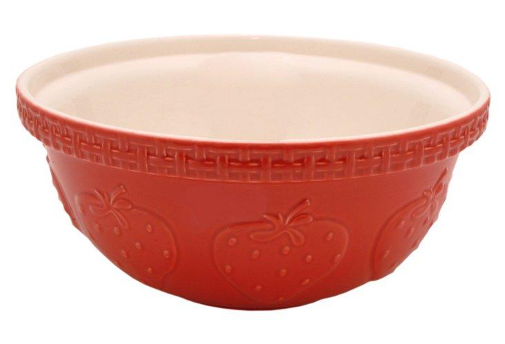 Strawberry Mixing Bowl, 5.21 Qt