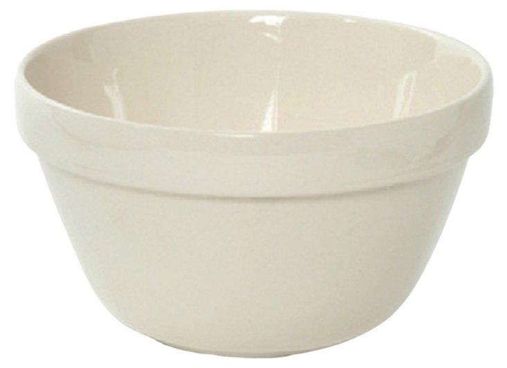 S/4 Earthenware Mixing Bowls, 0.7 Qt