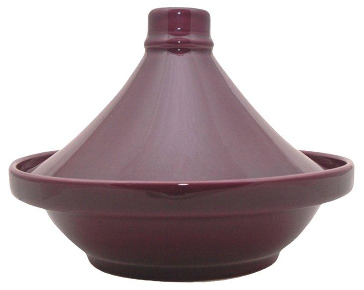 Ceramic Tagine, Purple