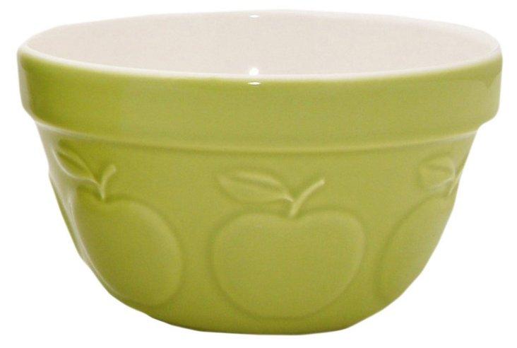 S/2 Ceramic Mixing Bowls, Apple