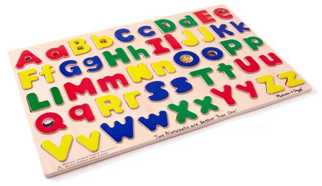 Upper & Lowercase Alphabet Puzzle