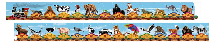 Animal Alphabet Train