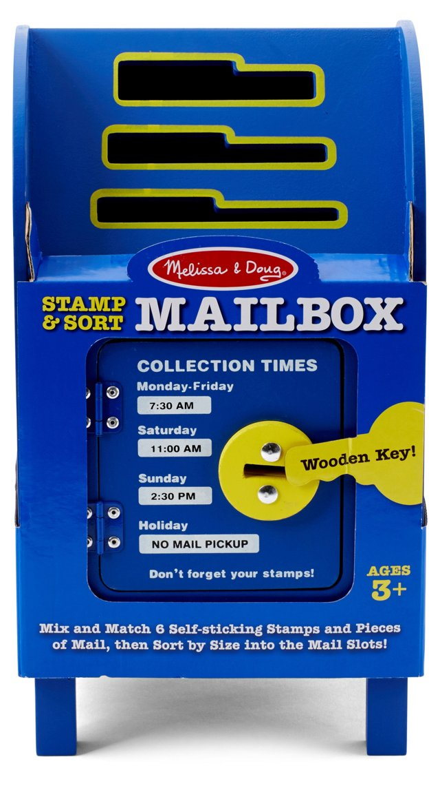 Stamp & Sort Mailbox Set