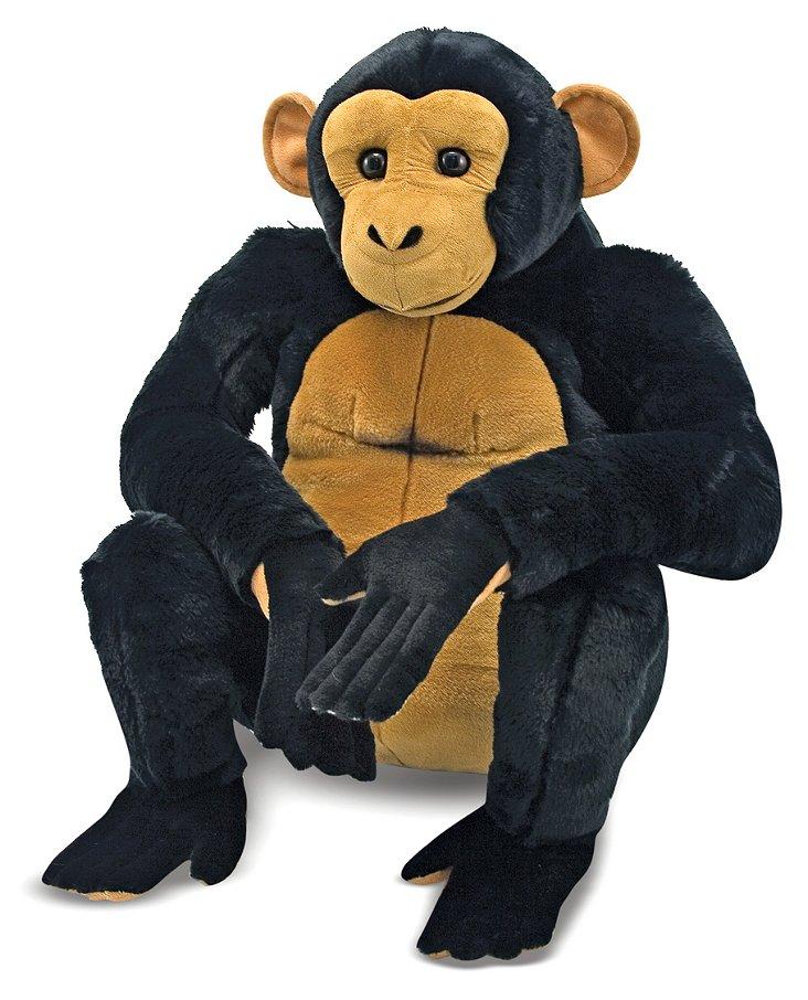 Giant Plush Chimpanzee