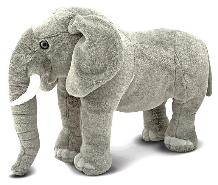 Giant Plush Elephant