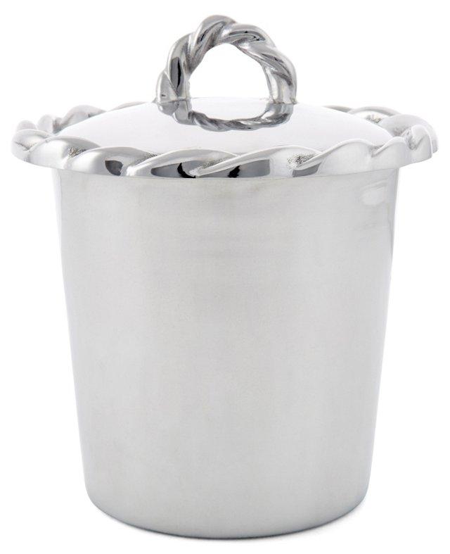 Swizzle Ice Bucket w/ Cover