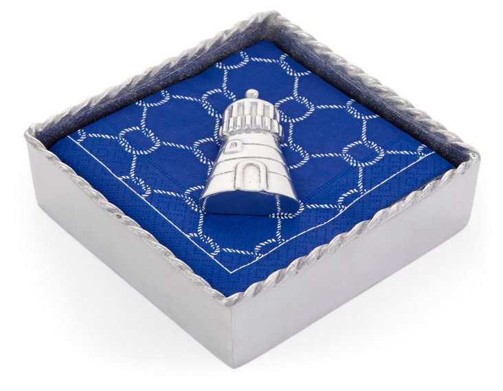 Lighthouse Napkin Box