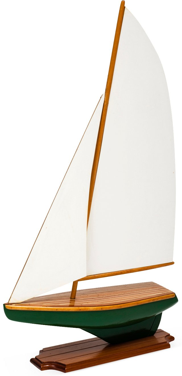 Handcrafted Sailboat II