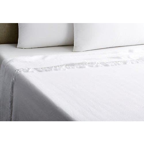 Carriage Blanket, White