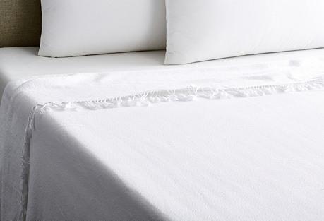 Carriage Blanket, White